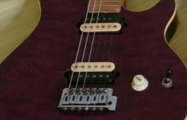 vendo guitarra OLP music man