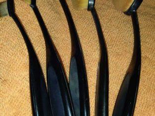 pincéis escovinhas de maquiagem