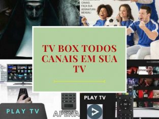 Tv Box 4k transforma sua TV em smart