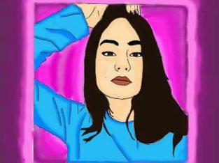 Faço desenhos de seu rosto ou de outra pessoa digital