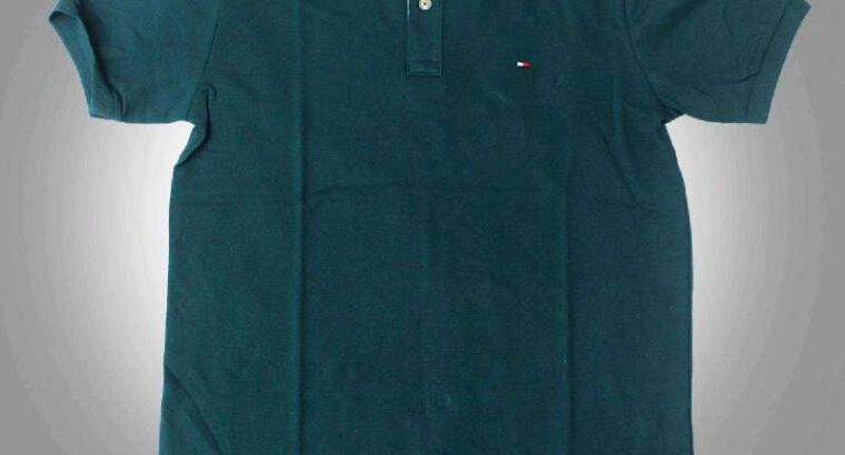 Camisa Polo Tommy Hilfiger Verde Escura