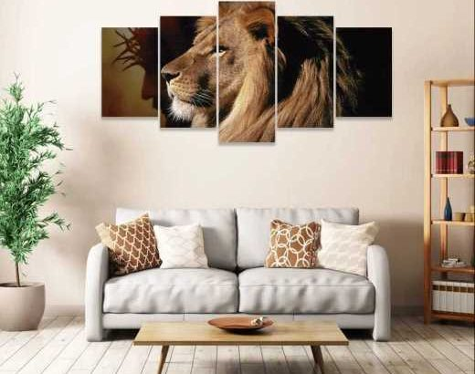 quadro decorativo 5pcs
