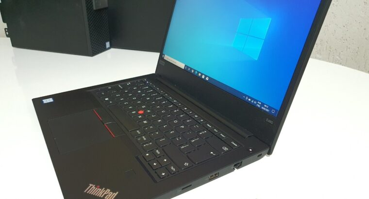 Notebook Laptop ThinkPad E480 i5 da Oitava ger 16gb e 256gb de ssd
